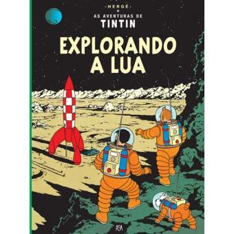 Tintin Explorando a Lua