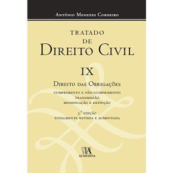 Tratado de Direito Civil - Livro 9: Direito das Obrigações