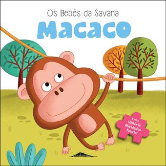 Os Bebés da Savana - Livro 3: Macaco