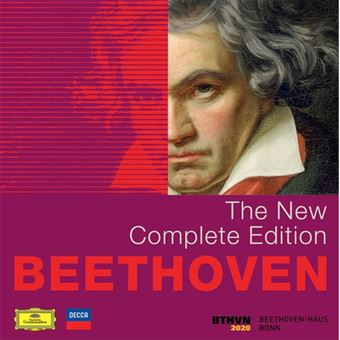 Beethoven 2020 : The New Complete Edition - 118CD + 2DVD + 3Blu-ray