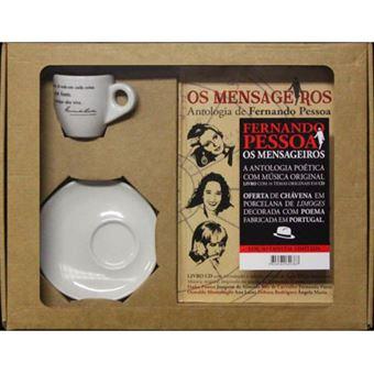 Os Mensageiros: Antologia de Fernando Pessoa - CD + Livro