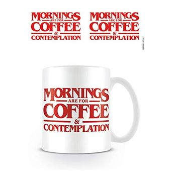Caneca Stranger Things: Coffee & Contemplation