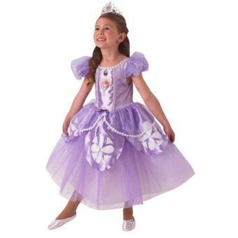 Disfarce Princesa Sofia Premium (5-6 Anos)