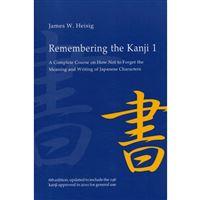 Remembering the Kanji - Book 1