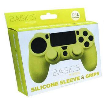 Capa de Silicone + Grips (Amarelo) - PS4