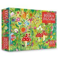 Usborne Book and Jigsaw: Bugs