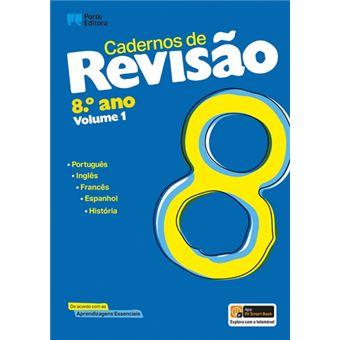 Cadernos de Revisão - 8º Ano - Vol 1