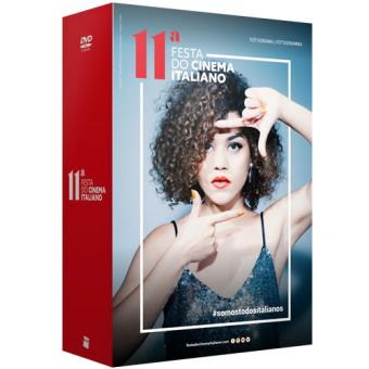 Pack Festa do Cinema Italiano 2018 - DVD