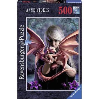 Puzzle Anne Stokes Dragon Girl (500 peças)