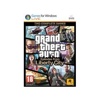 Grand Theft Auto: Episodes from Liberty City PC