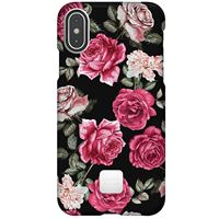 Capa Happy Plugs para iPhone XS | iPhone X - Vintage Roses
