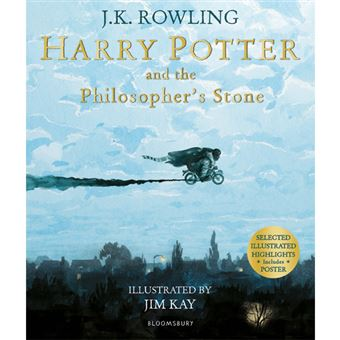 Harry Potter and the Philosopher Stone - Illustrated Edition