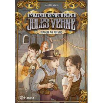 As Aventuras de Jules Verne - Livro 3: Viagem ao Abismo
