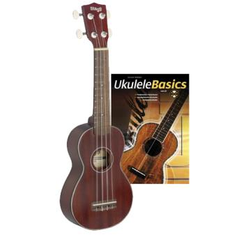 Ukulele Soprano US40-S com Livro