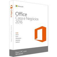 Microsoft Office 2016 Casa e Negócios