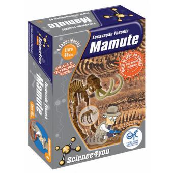 08617f7adb05b Escavação de Fósseis  Mamute - Jogos Científicos - Compra na Fnac.pt