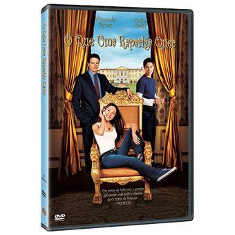 O Que Uma Rapariga Quer - DVD