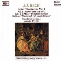 BACH-SUITES (OVERTURES)-VOL.1