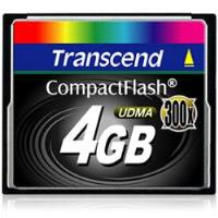 Transcend CompactFlash 4GB 300X