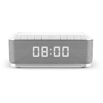 Rádio Despertador Bigben com Carregador Wireless - Branco