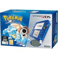 Consola Nintendo 2DS HW Azul Transparente + Pokémon Blue - Edição Limitada 20º Aniversário