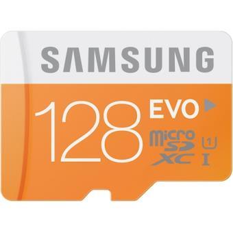 Samsung EVO 128GB MicroSDXC Class 10 UHS-1 128GB MicroSDXC UHS Class 10 cartão de memória