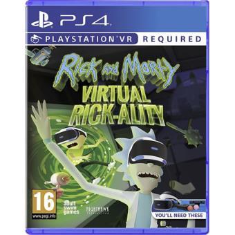 Rick and Morty: Virtual Rick-ality PS4