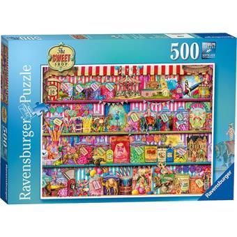 Puzzle The Sweet Shop Puzzle (500 peças)