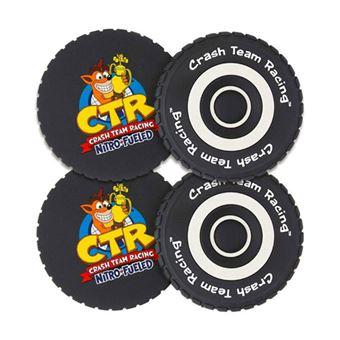 Base de Copo Crash Team Racing Tyre - 4 Unidades