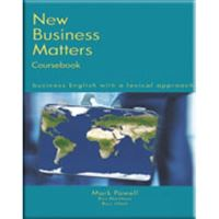 NEW BUSINESS MATTERS STUDENT TEXT
