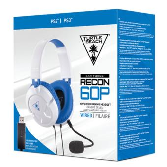 Turtle Beach Recon 60P White Amplified Stereo PS4/Xbox One
