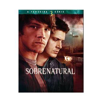Sobrenatural 3 Série - Blu-ray