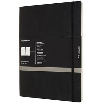 Caderno Moleskine Pro Notebook Soft XXL Preto