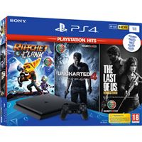 Consola Sony PS4 1TB + Ratchet & Clank + Uncharted 4 + The Last of Us