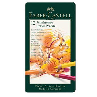 L´pais de Cor Faber-Castell Polychromos - 12 Unidades