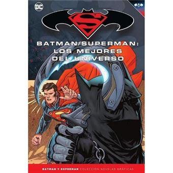 Batman y superman los mejores-novel