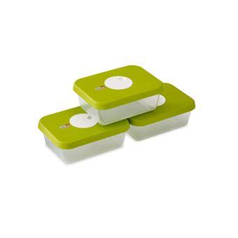 Joseph Joseph Dial Caixa Retangular 1 l Verde, Transparente 3 peça(s)
