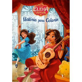 Elena de Avalor - História para Colorir