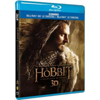 O Hobbit: A Desolação de Smaug (Blu-ray 3D + 2D)