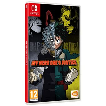 My Hero One´s Justice - Code in The Box - Nintendo Switch