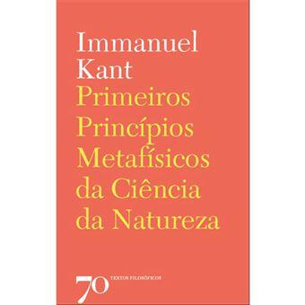 Primeiros Princípios Metafísicos da Ciência da Natureza