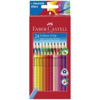 Caixa 24 Lápis de Cor Colour Grip