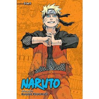 Naruto: 3-in-1 Edition - Book 22: Books 64, 65 and 66