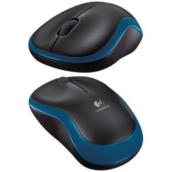 Logitech Rato Wireless M185 (Azul)