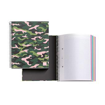 Caderno Pautado Miquelrius - Selva Rosa, A5