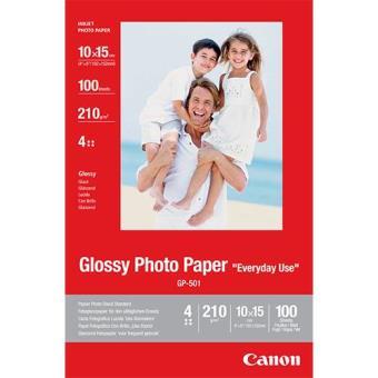 Canon Papel Foto Glossy 10x15 210g/m² 100F (GP-501)