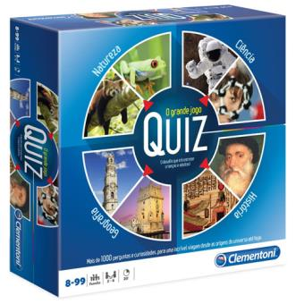 O Grande Jogo Quiz - Clementoni