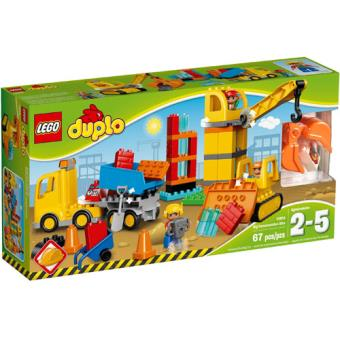 LEGO DUPLO Town 10813 Obra Grande