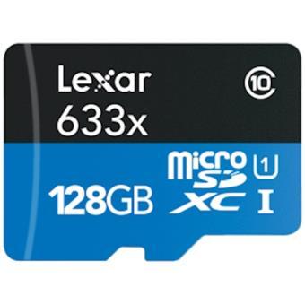 Lexar 633x 0.128GB MicroSDXC UHS-I Class 16 cartão de memória