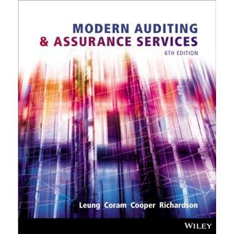 Modern auditing and assurance servi